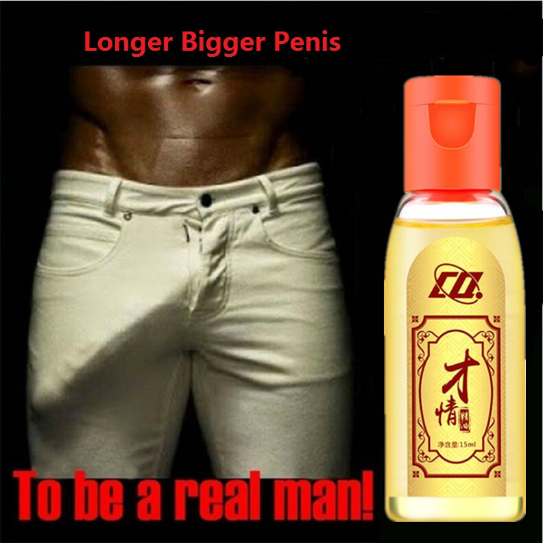 New Penis Thickening Growth Man Big Dick Liquid Cock Erection Enhance Men Health Care Enlarge Massage Enlargement Oils15ML