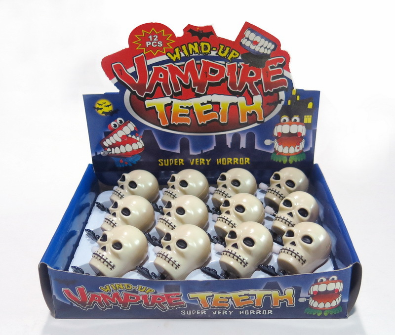 APRIL FOOL'S DAY Halloween Toy Trick Spoof Spring Small Toy Chain Jumping Skull