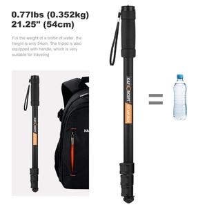 Image 4 - K & F Khái Niệm Nhỏ Monopod Nhôm Nhẹ 67 Inch Cho Máy Ảnh Canon Nikon Sony