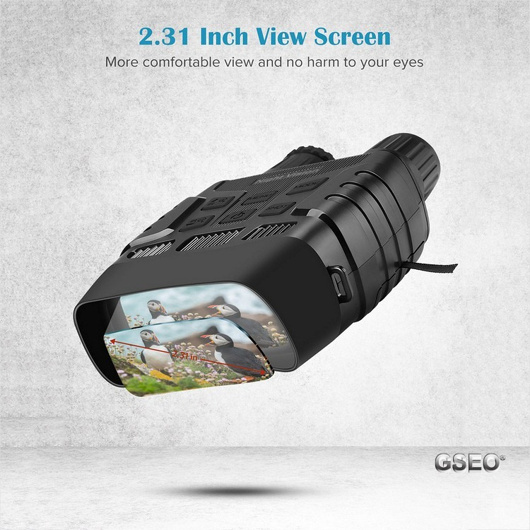 Night Vision Binoculars With Telescope Zoom and 2.3'' Screen 3