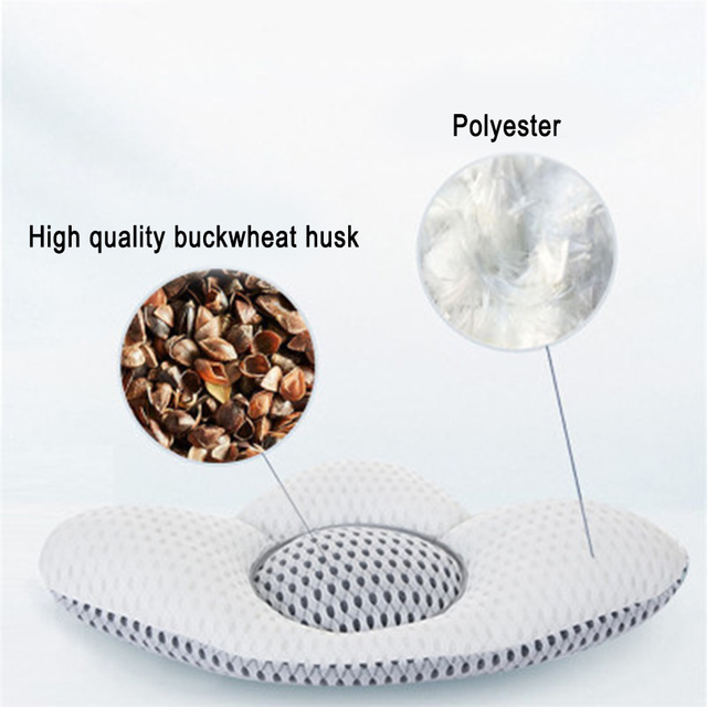 Buckwheat Lumbar Support Sleep Pillow 5