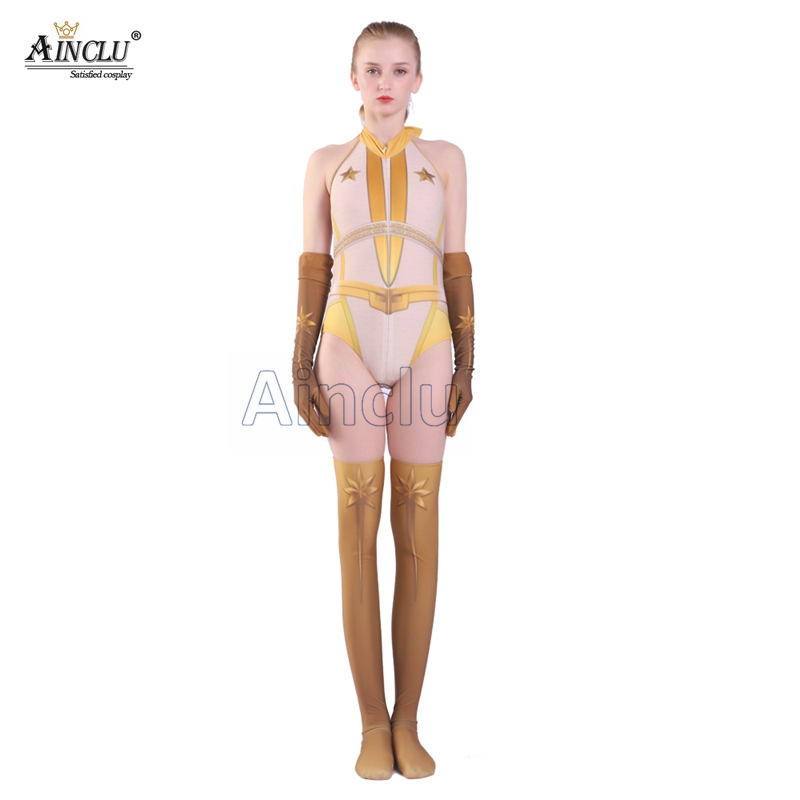 Women Bodysuit The Boys Starlight Annie January Suit Jumpsuit Adult Child Size Halloween Carnival Zentai Party Cosplay Costume