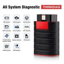 2 יח\חבילה ישן אתחול Thinkdiag Diagzone רכב OBDII קוד קורא ישן גרסה ישן שבב מלא מערכת אוטומטי Bluetooth סורק