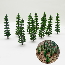 3cm height model green tasson trees toys scale sandtable miniature color plants for diorama tiny wargame forest mountain scenery