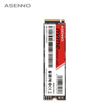 Asenno NVME 1TB SSD M2 PCIE 128GB 256GB 512GB SSD 120GB 240GB 500GB NVME SSD M 2 2280 wewnętrzny dysk półprzewodnikowy tanie tanio Pci express Nowy 2263XT High Speed Pci-e Pulpit Laptop Serwer 3 years