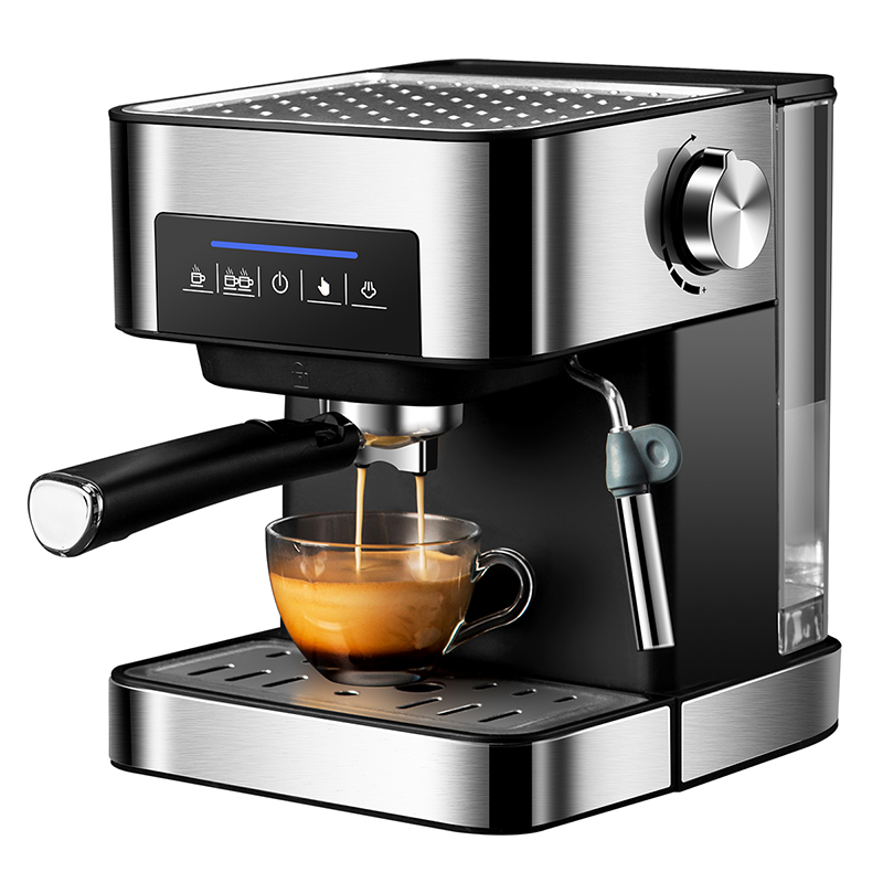 Zhoutu Coffee Machine Built In Milk Frother 15bar Pressure Espresso Coffee Maker Cappuccino 850w Household For Kitchen Coffee Makers Aliexpress