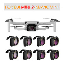 Для DJI Mini 2 Camera Gimbal Lens Filter MCUV CPL ND Camera Lens Sunhood Protector for DJI Mavic Mini Accessories