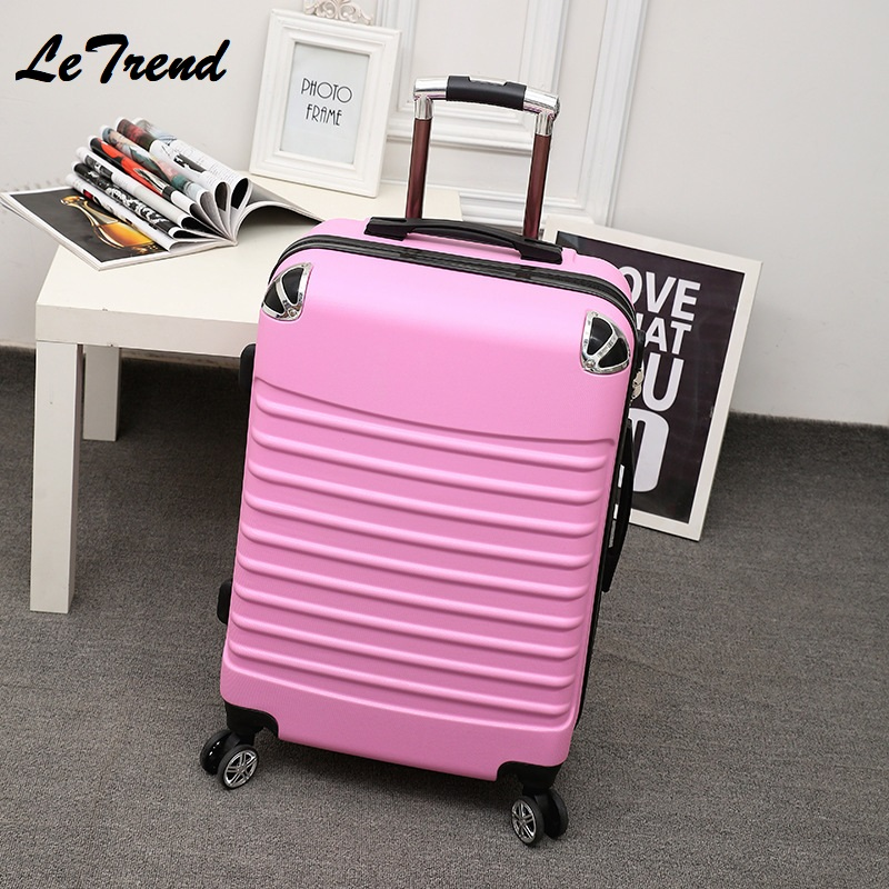 New Fashion 20/24 Inch Rolling Luggage Sipnner Wheels ABS+PC Women Travel Suitcase Men Cabin Carry-on Trolley Box Luggage