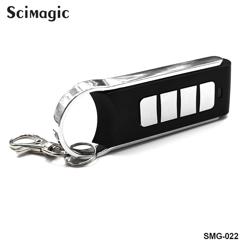 433.92mhz Garage Gate Door Remote Transmitter Consoles For Gates Fixed Code Garage Controls To Clone Command Key Fob