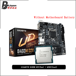 Intel Core i9 10900K ES QTB2 CPU + Gigabyte GA B460M D2V Motherboard Suit LGA 1200 CPU + Motherbaord Suit New but without cooler