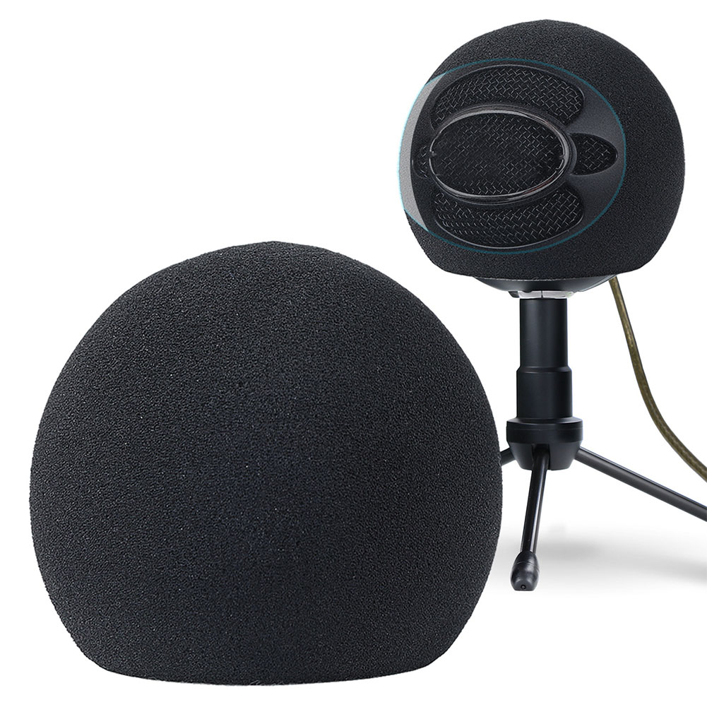 Muff Soft Sponge Practical Accessories Microphone Cover KTV Recording Part Windshield Windscreen Dust Proof For Blue Snowball