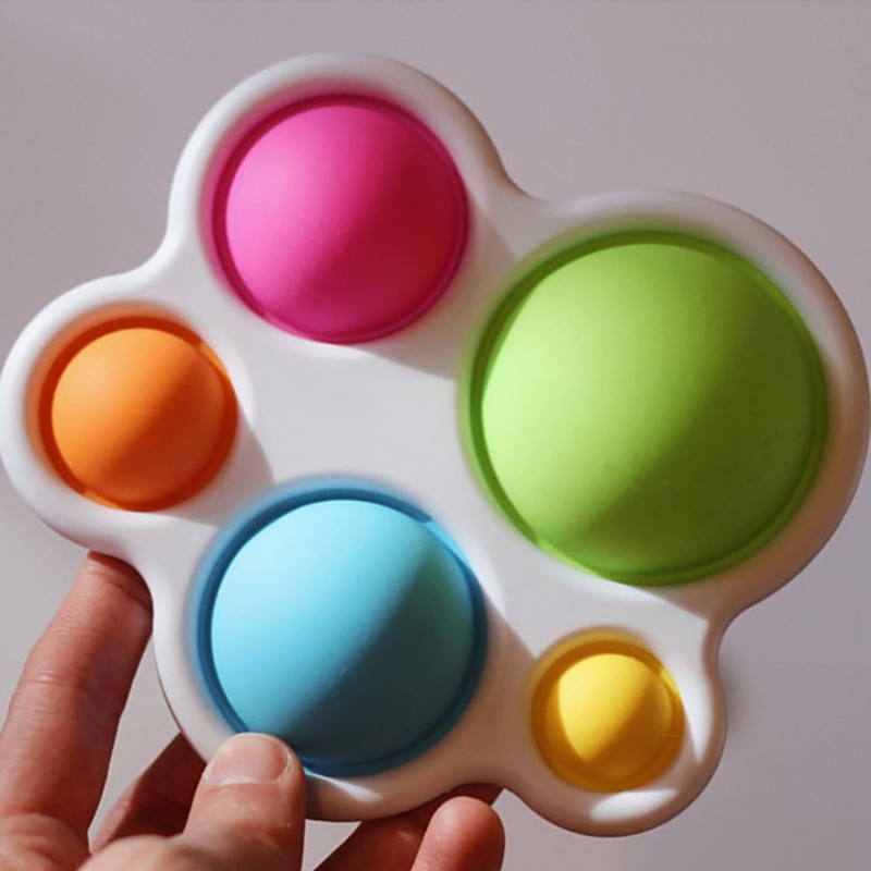 Infant Baby Toys Montessori Exercise Board Rattle Puzzle Colorful Intelligence Early Education Intensive Training 1