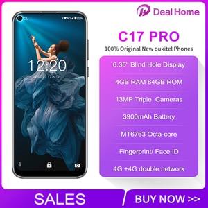 "Image 2 - Oukitel C17 Pro 6.35"" Full screen 4GB RAM 64GB ROM 13MP Triple Rear Camera Smartphone MT6763 Octa Core 3900mAh 4G Mobile Phone"