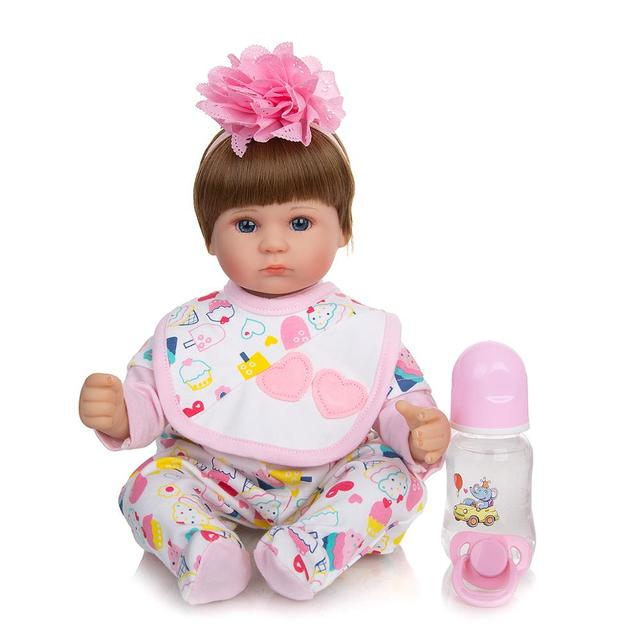 Фото keiumi реалистичные детские куклы reborn 17 ''42 см цена