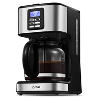 Coffee Machine Fully Automatic Drip Type Teapot Family Multifunction Purified Water Automatic Power off Easy To Clean