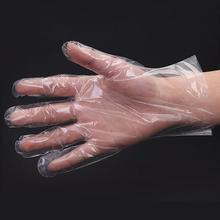 Disposable Gloves Plastic Kitchen Restaurant 500pcs Clear for Industrial One-Off