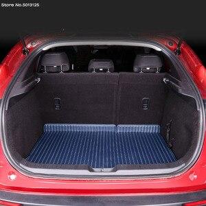 Image 5 - Auto Alle inclusive Hinten Stamm Matte Auto Boot Liner Fach Hinten Stamm Abdeckung Für Mazda CX30 CX 30 2020 2021 Auto zubehör