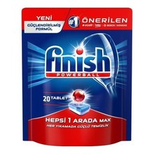 Finish Powerball All In One Dishwasher Tablet s Dish Machine Polisher Dishwashing Detergent
