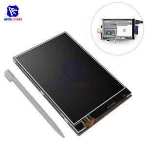 Модуль сенсорного ЖК-экрана diymore, 3,5-дюймовый TFT ЖК-дисплей, 320x480, с сенсорной ручкой, для модели Pi 2, B & Pi, модели B