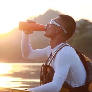 Image 3 - Youpin תרמוס KKF בקבוק ואקום 24h בידוד תרמוסים נירוסטה בקבוק 475ML נסיעות כוס ספורט ספל OLED טמפרטורה כוס