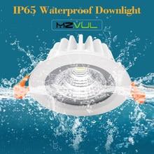 O diodo emissor de luz anticorrosivo downlight ip65 impermeável conduziu a lâmpada de teto 7w 15w conduziu a iluminação do ponto do banheiro da cozinha conduziu downlight recessed