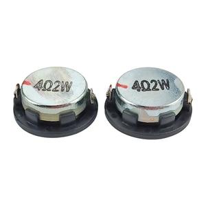 Image 5 - GHXAMP 1 inç 4Ohm 2W Mini hoparlör 28mm PU yan tam aralıklı ses orta kademe bas MP3 Bluetooth hoparlör yuvarlak 1 çift