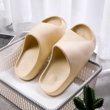 Women Men Summer Slides Breathable Cool Beach Sandals Flip Flops Fish MouthCouple Slippers outdoor Indoor Bone White Plus Size