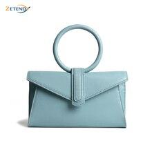 Simple Multi-color Ring Tote Bag Shoulder Messenger Small Bag