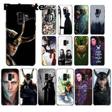 Babaite Coque Marvel Hero Loki Nieuwigheid Fundas Telefoon Case Cover Voor Samsung Galaxy S9 Plus S3 S6 7 8 9 s10 E S9 Mobiele Cover(China)