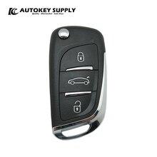Remote Key For Positron Alarm System, Citroen   Double Program (293/300)   AutokeySupply AKBPCP095