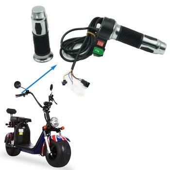 Citycoco, mango de acelerador 60V Universal con engranaje de cuerno, velocímetro de instrumento LCD para Scooter eléctrico chino Halei Citycoco