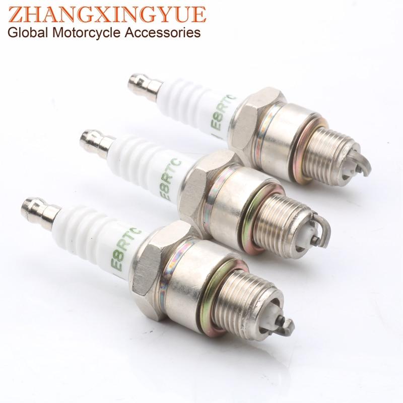 3pc e8rtc alta qualidade spark plug para 01