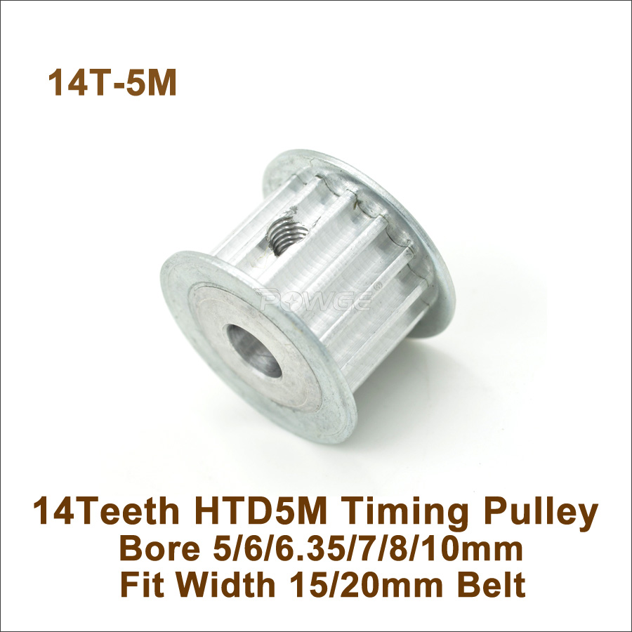3//4//5//6//8//9mm Hole XL 15 Teeth 11mm Width Timing Belt Idler Pulley With Bearing