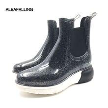 Женские ботинки для дождливой погоды aleafalling уличные очаровательные