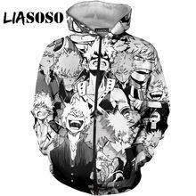 Liasoso 3d с принтом Мужские и женские Аниме комиксов мой герой