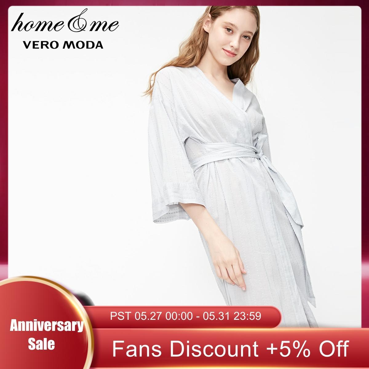 Vero Moda Women's 3D Pattern Waist Belt Lace-up Homewear Overall | 3192R1503