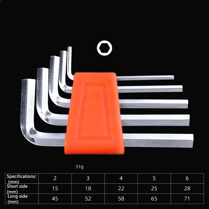 """6.35mm bras court clé hexagonale//clé allen 1//4/"""" pouces"""
