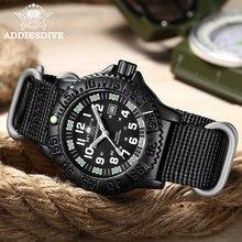 Addies Quarzuhr Militär Outdoor Uhren für Männer 50m Wasserdichte Super Leucht Legierung Fall Fashion Marke Sport Uhr Dive
