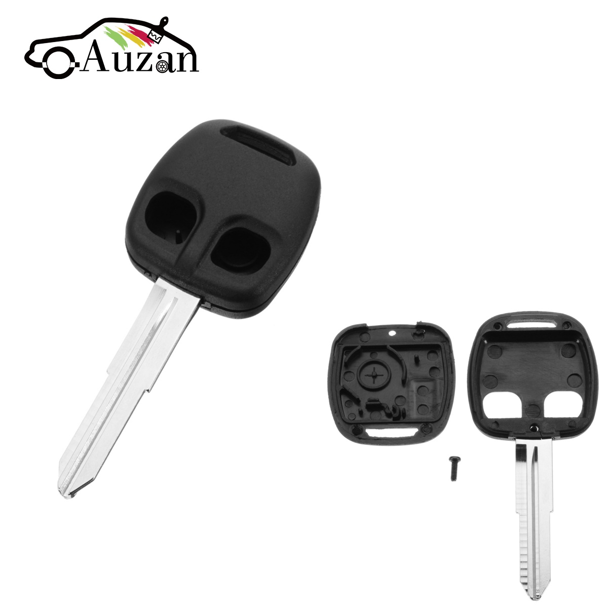 2 Button Car Remote <font><b>Key</b></font> Shell MIT11R Blade Case Fob for <font><b>MITSUBISHI</b></font> Lancer Evo <font><b>L200</b></font> Shogun Pajero <font><b>Key</b></font> <font><b>Replacement</b></font> image