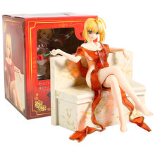 Fate Extra Terakhir Encore Saber Jubah Mandi Ver. PVC Sosok Collectible Model Mainan(China)