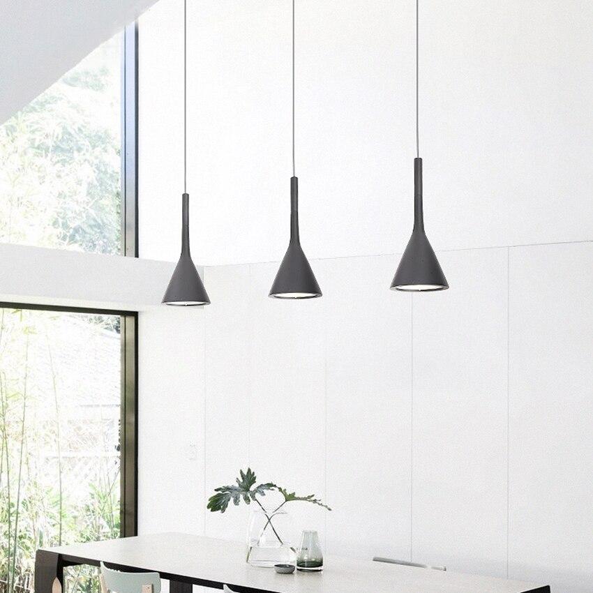 Modern Design Resin Led Pendant Lights Dining Room Restaurant Coffee Bar Bedroom Light Fixtures Lighting Pendant Lamp Luminaire