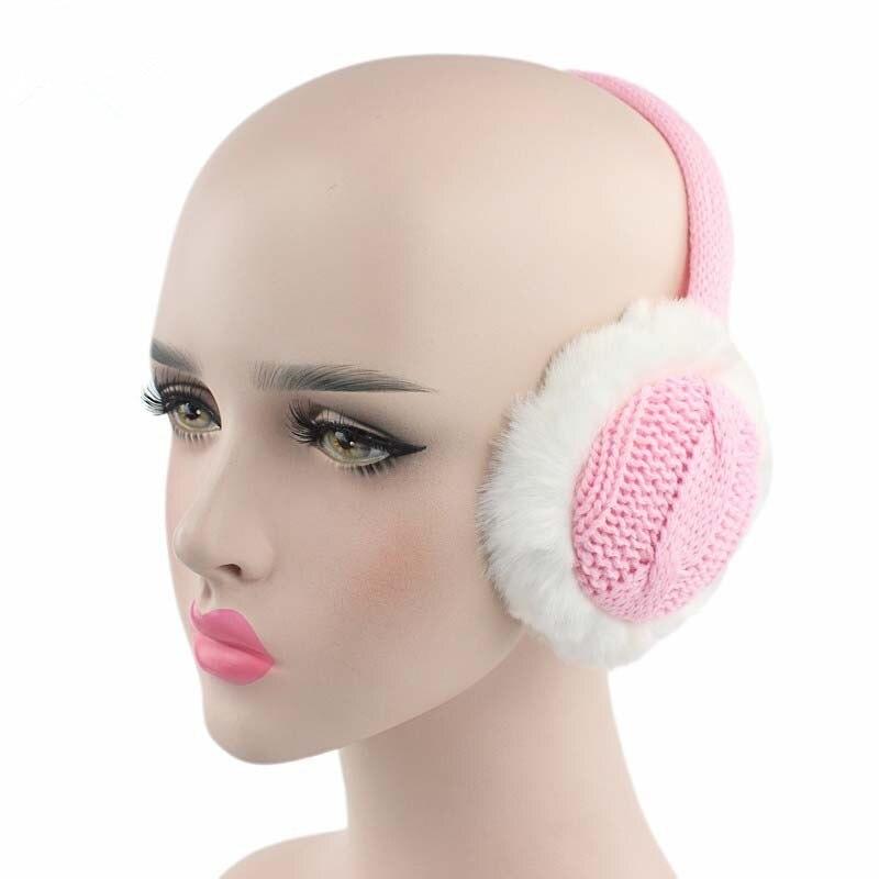 Winter Earmuff Imitation Rabbit Women Fur Earmuffs Winter Ear Warmer Plush Girls Ear Warmers Earmuffs