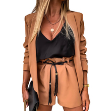 цена на Fashion Winter Woman blaser Jacket Coat Business Suit Long Sleeve Suit Ladies Outwear Office Lady Suit blaser feminino D30
