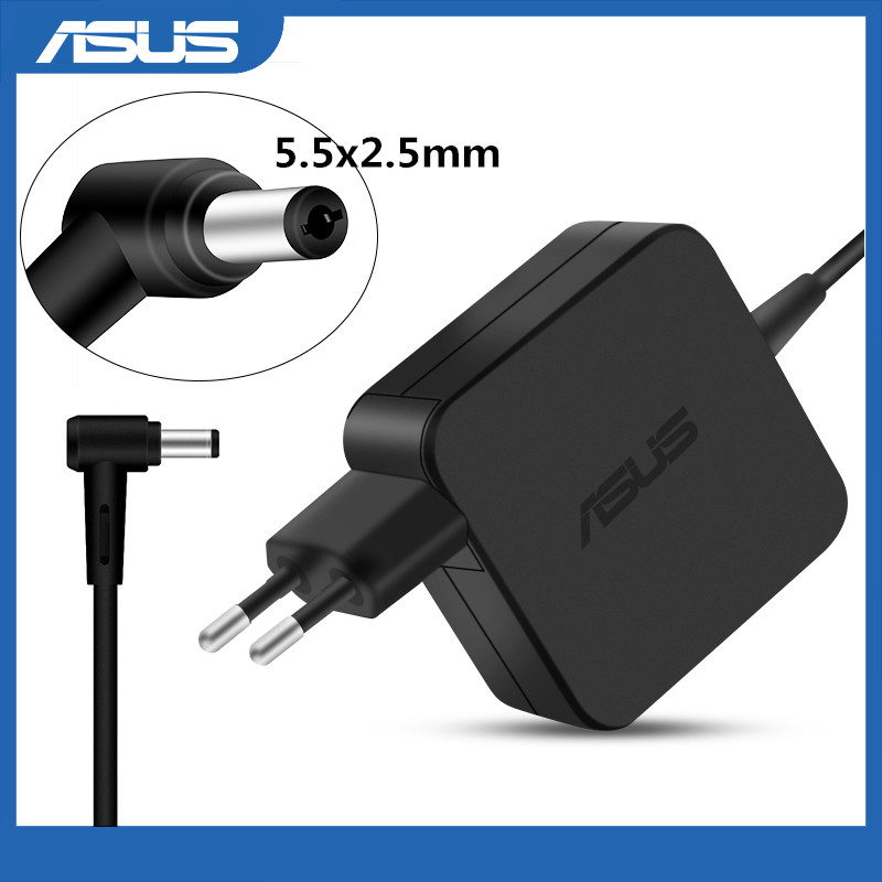 19V 2.37A 45W 5.5x2.5mm AC Adapter Power Charger For Asus X751MA F551C K53S K53E K52F X555L F551M F555L E200H X552C X550C Laptop