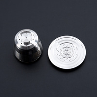 Stainless Steel Refillable Reusable Coffee Capsule Pod For Nespresso CitiZ Pixie