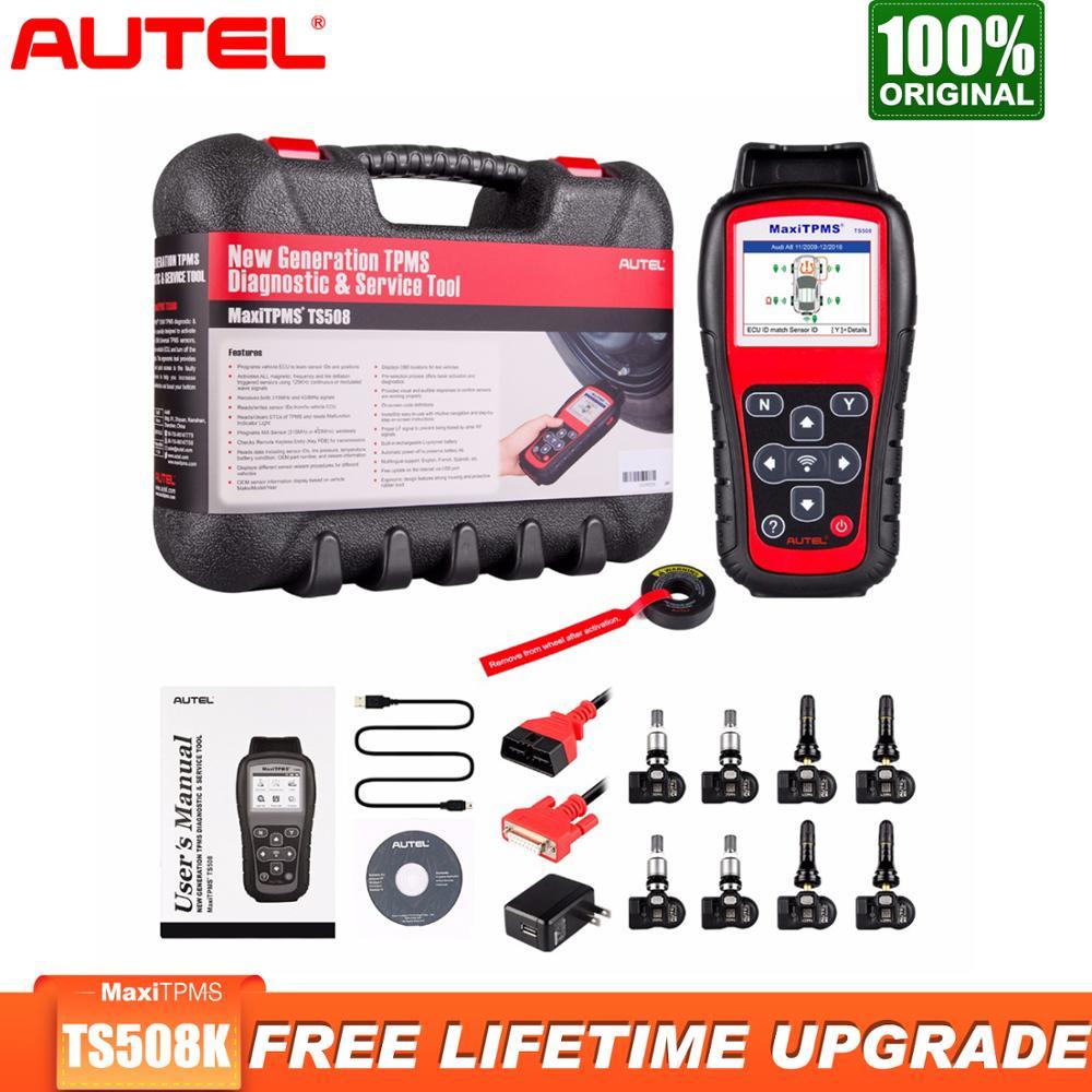 Autel MaxiTPMS TS508 TPMS Tool with MX Sensor Car Diagnostic Tool Kit, TS508K TPMS System Sensor Program MX sensors Conduct TPMS|Pressure & Vacuum Testers| - AliExpress