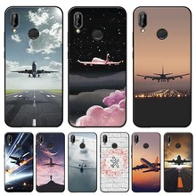 Aircraft Airplane fly travel Cover for xiaomi redmi note 7 k20 pro  5 6 4x 7a Clear Soft Silicone Phone Case