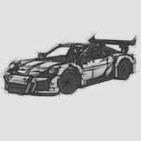 DHL DECOOL IN STOCK 2726PCS 3368 technic series Car Model Building Kits Blocks Toys Bricks Electroplated tire 42056 20001