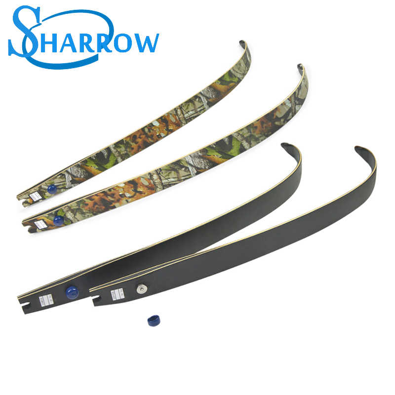 "F166 30-55lbs ILF arco recurvo, extremidades H21 64 "", arco recurvo para la práctica de tiro con arco"