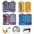 115 in 1 Schraubendreher-set Präzision Schraubendreher-satz Multifunktionale Öffnung Reparatur Werkzeuge Tragen Fall für Laptops Telefon